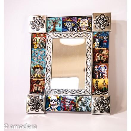 Décoration murale miroir Catrina