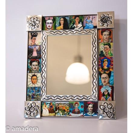 Miroir décoration Frida Khalo