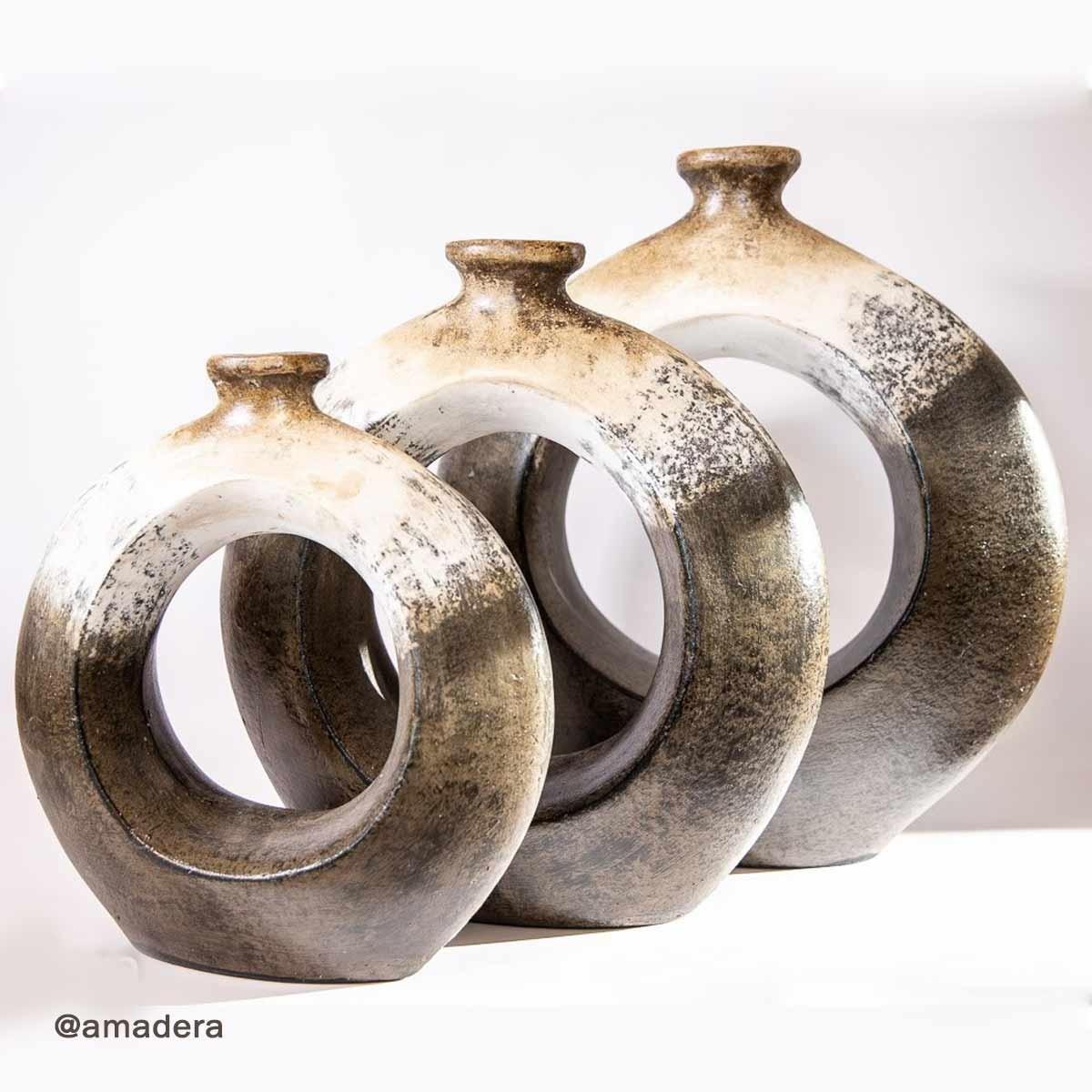 Vase terre cuite déco d'intérieur