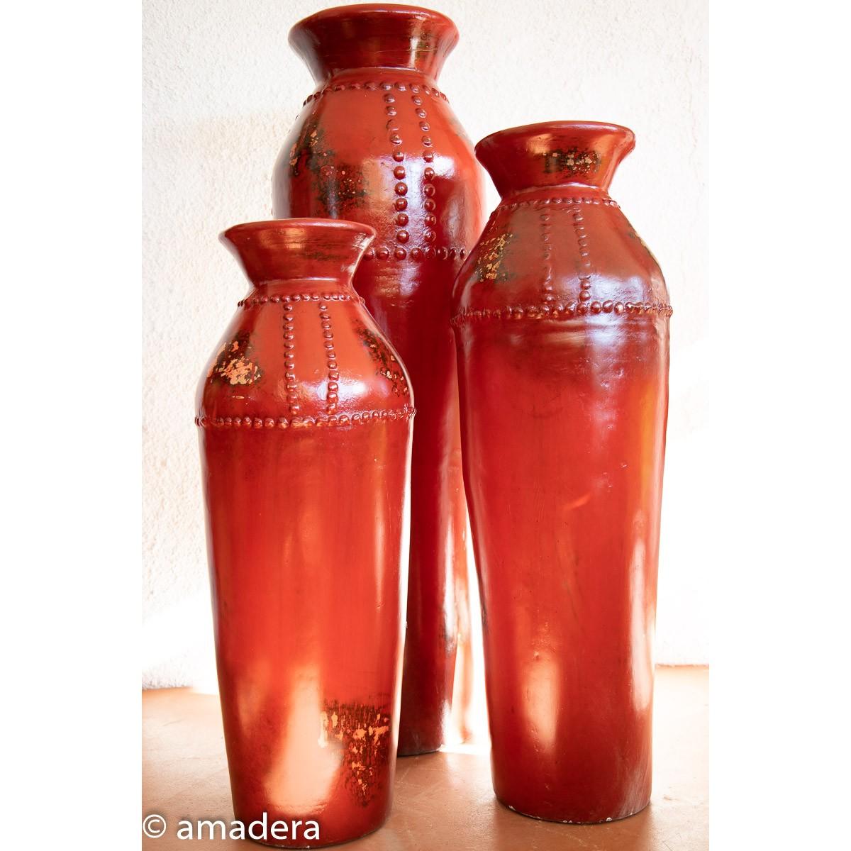 Grandes jarres poterie déco intérieure