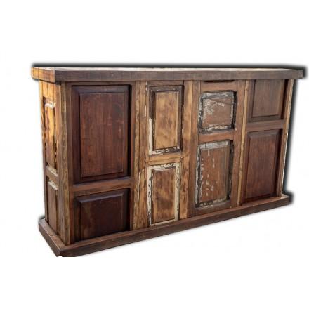 Meuble de bar en bois