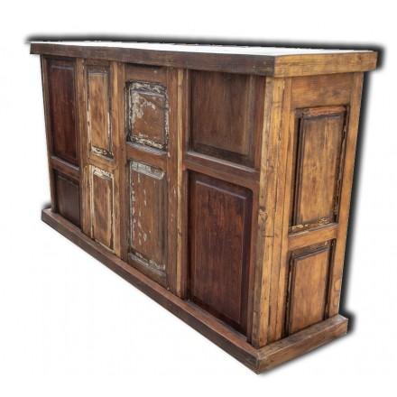 Meuble bar en bois
