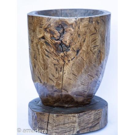 Grand pilon en bois