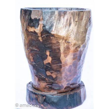 Pilon en bois objet déco