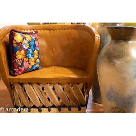 Fauteuil lounge meuble mexicain