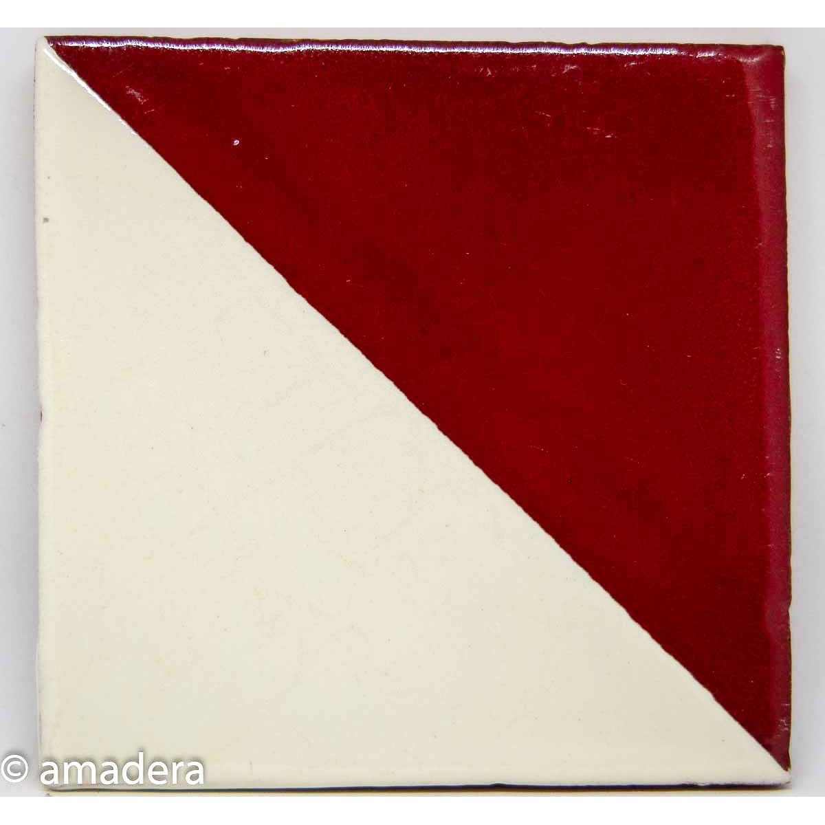 Carrelage azulejos Harlequin Rouge