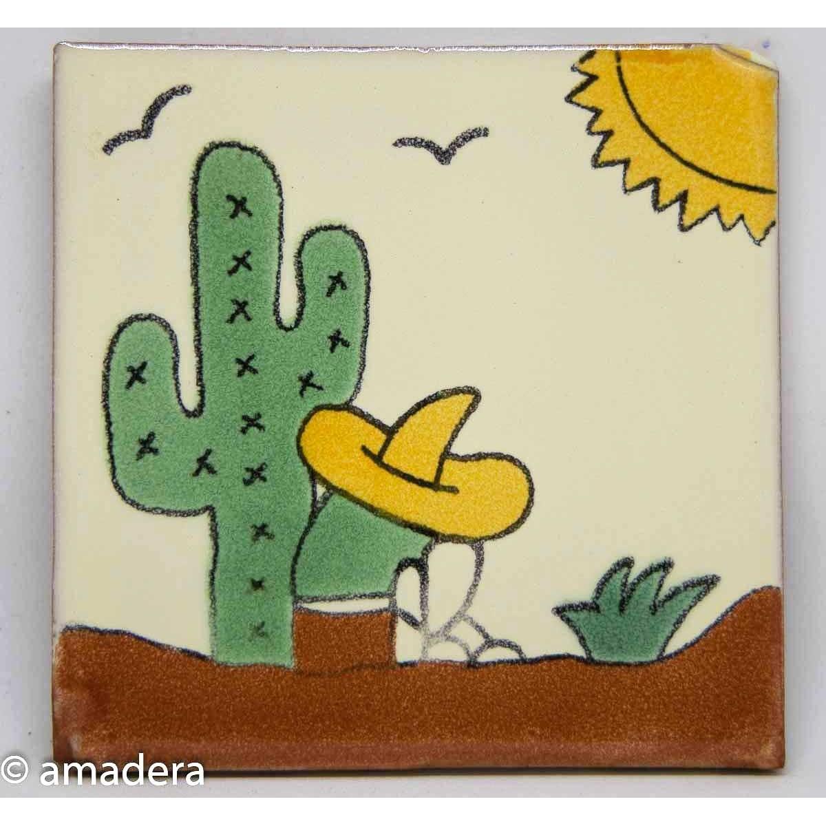 Petit azulejos mexicain