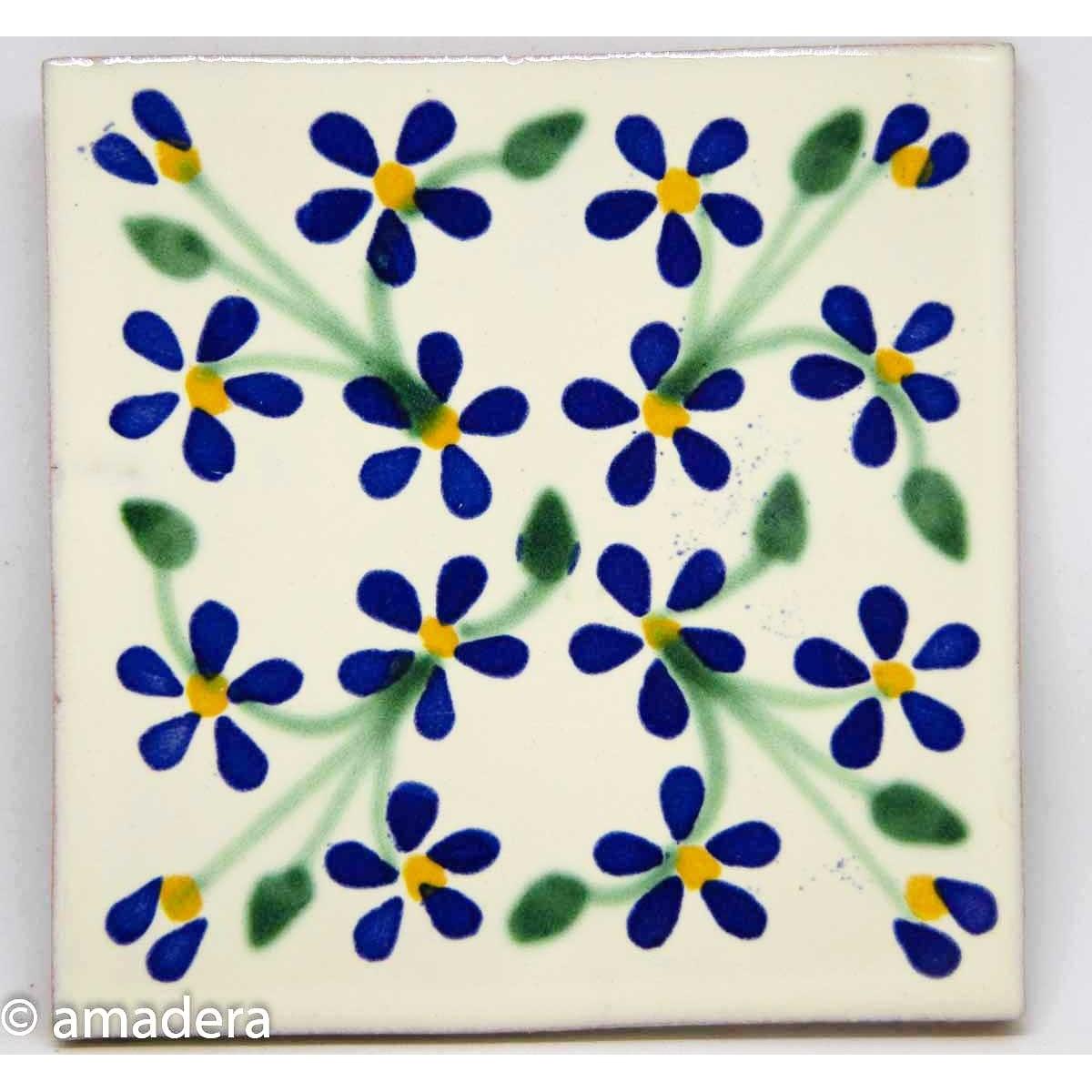 Carrelage azulejos émaillé