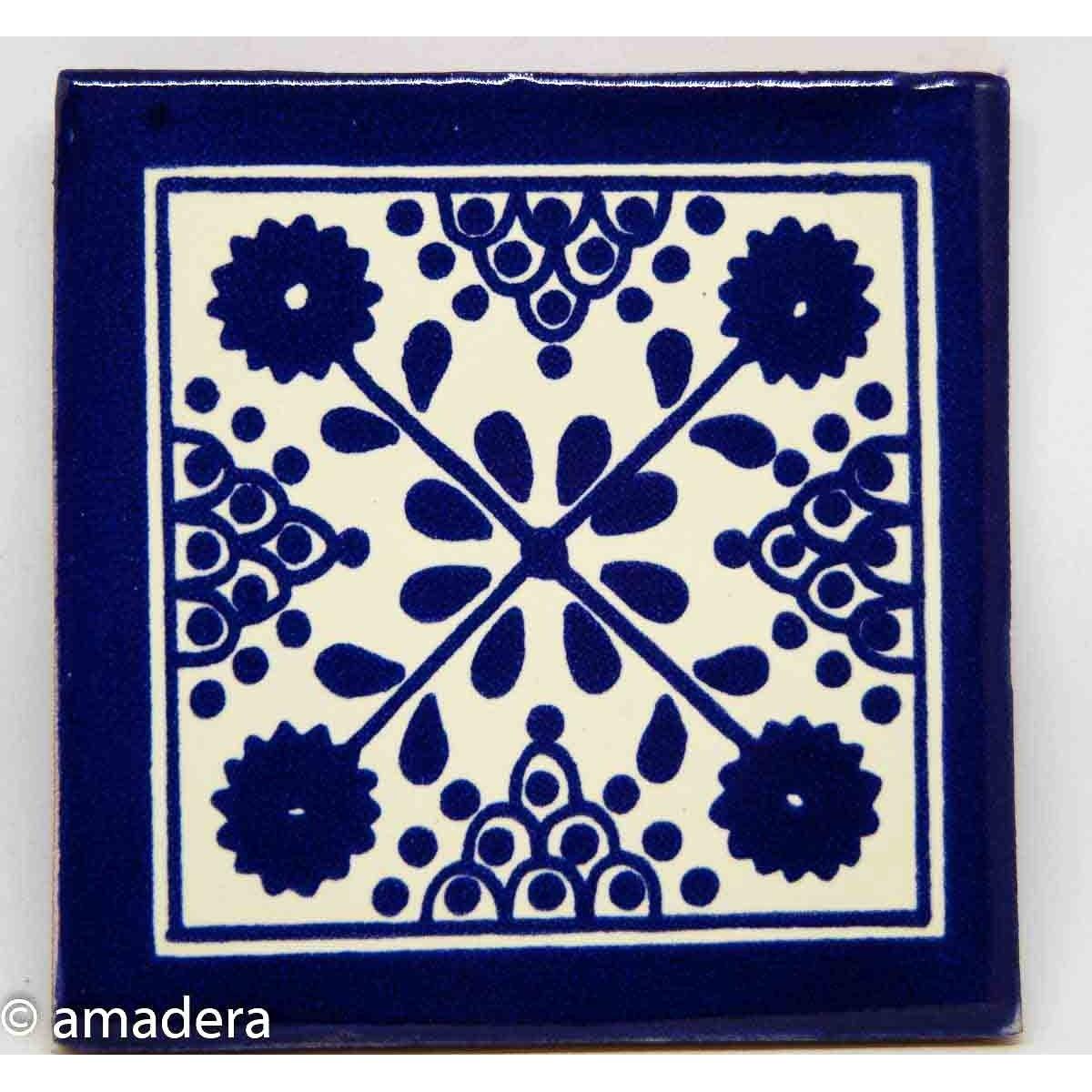 Azulejos mexicains décorés