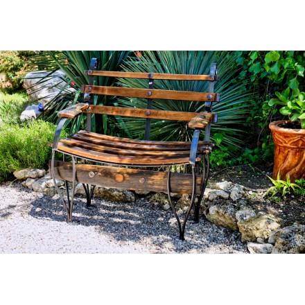 Petit banc de jardin