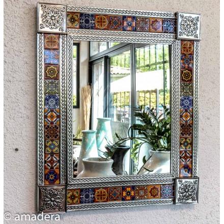 Miroir rectangulaire deco murale