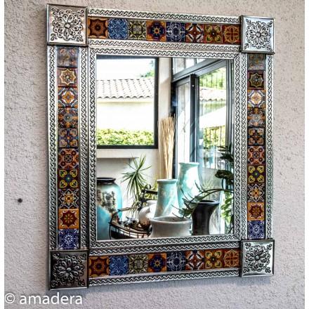 Miroir rectangulaire decoration murale