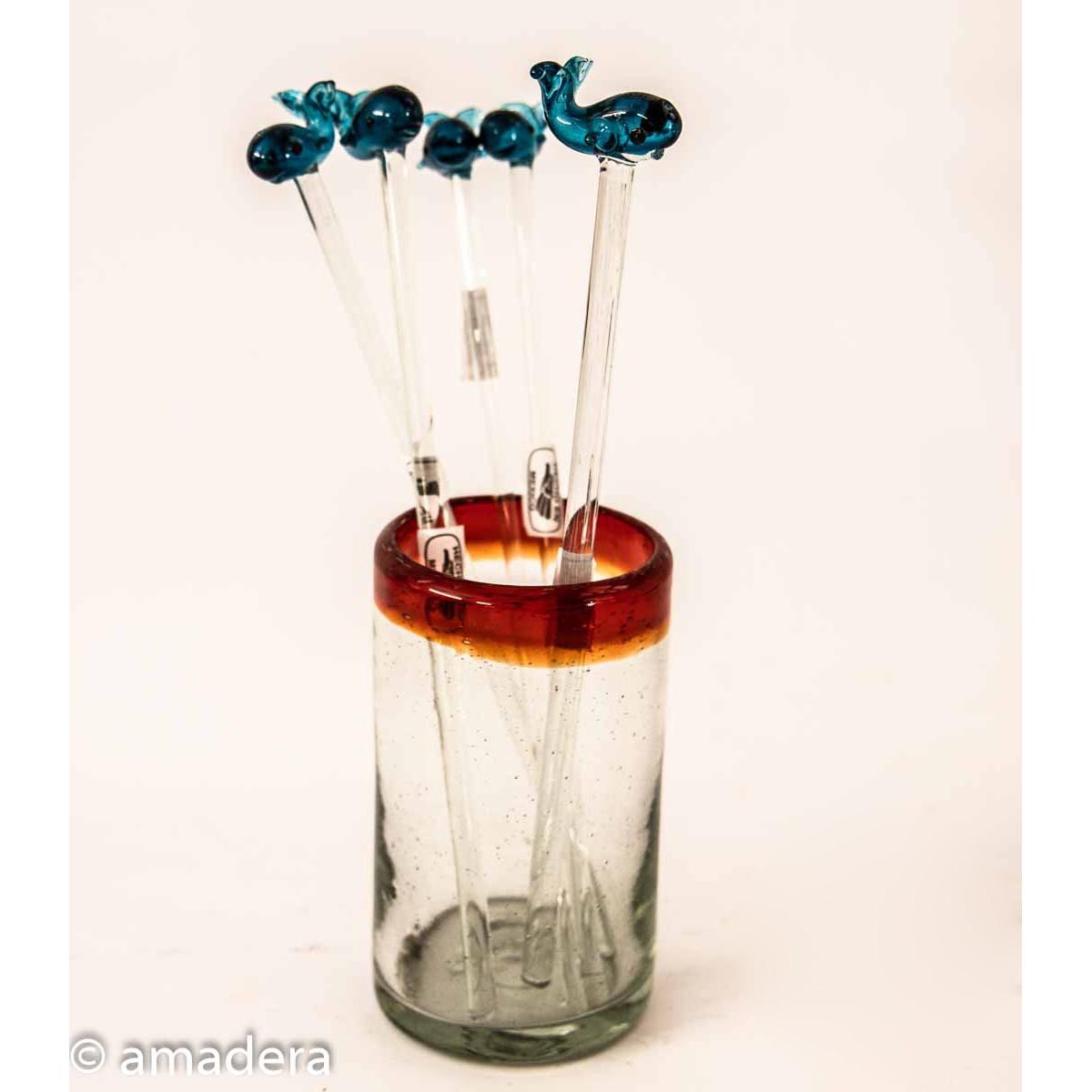 Agitateurs en verre pour cocktails