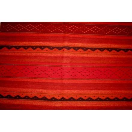 Grand tapis en laine fait main