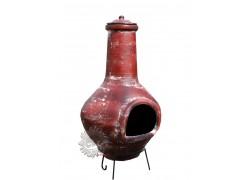 Grand brasero cheminée mexicaine