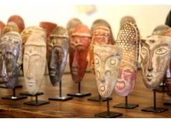 Petits masques mexicains. décoration ethnique