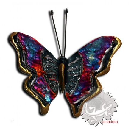 Papillon en m tal d coration d int rieur id e cadeau for Cadeau decoration interieur