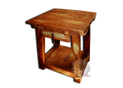 Table haute table basse de salon meuble mexicain amadera - Petite table de salon ...