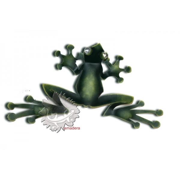 grenouilles en m tal pour d coration murale int rieure et ext rieure. Black Bedroom Furniture Sets. Home Design Ideas