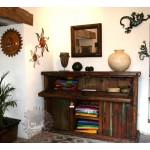 Meuble de bar pirogue mexicaine mobilier mexicain for Meuble mexicain
