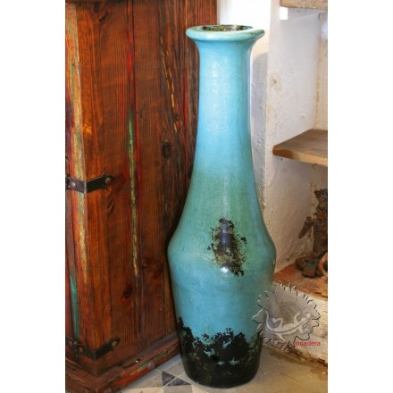 grandes jarres pur es modernes bleue turquoise d coration d 39 int rieur. Black Bedroom Furniture Sets. Home Design Ideas