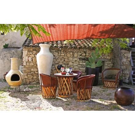 grand brasero mexicain barbecue et chemin e de jardin. Black Bedroom Furniture Sets. Home Design Ideas