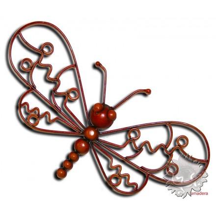 Papillon métal décoration murale
