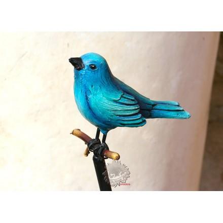 Tuteur décoratif avec oiseau