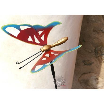 Tuteur décoratif papillon