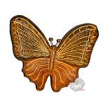 Papillon déco en terre cuite