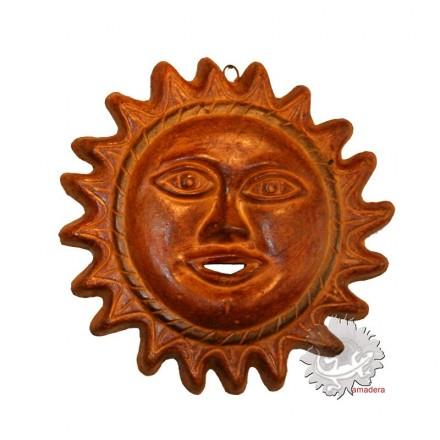 Soleil mexicain terre cuite
