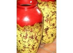 Jarre poterie décorative