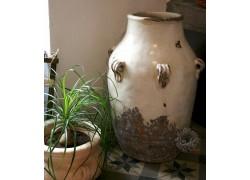 jarre décorative terre cuite