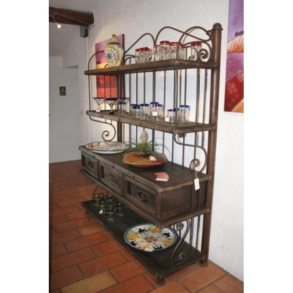 vaisselier fer forge. Black Bedroom Furniture Sets. Home Design Ideas