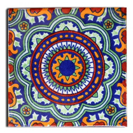 Azulejos mexicain émaillé