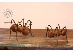 Fourmis décorative en fer forgé
