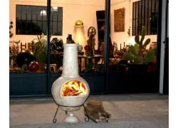 brasero barbecue mexicain chemin e de jardin en terre cuite amadera. Black Bedroom Furniture Sets. Home Design Ideas
