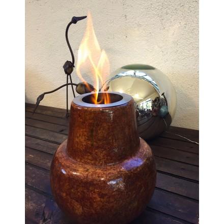 lampe éthanol décoration