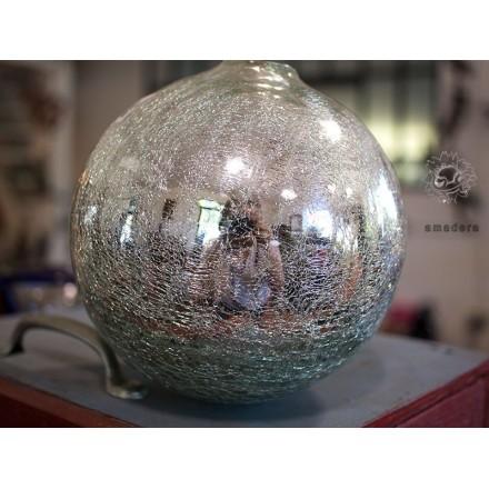 Boules argentées décoration