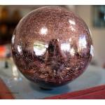 Boules décoratives en verre soufflé