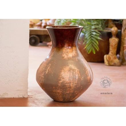 Petite jarre poterie en terre cuite pour votre d coration - Jarres terre cuite jardin ...