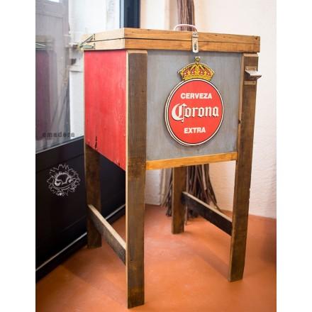 Meuble glace pour boissons fraiches meuble mexicain for Meuble bar a boisson