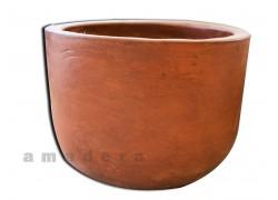 Pot de fleurs terre cuite