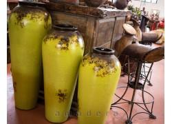 Poterie jarre décorative