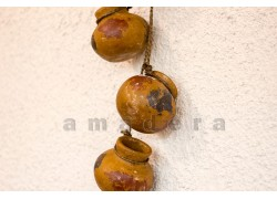 Suspension petites poteries