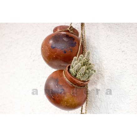 Suspension pots terre cuite