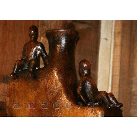 vase terre cuite décoration d'intérieur