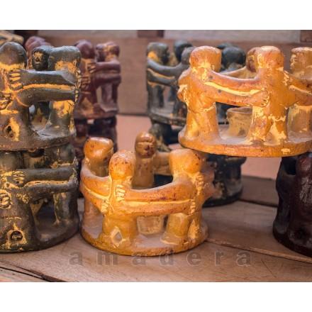 Bougeoir mexicain décoration ethnique