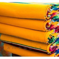 Couverture mexicaine jaune