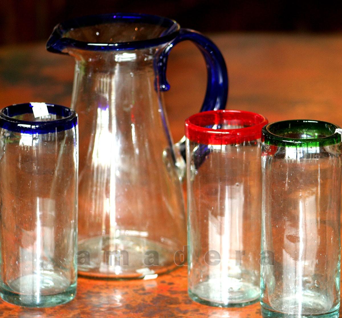 grands verres mexicains de table pour l 39 eau vos mojitos. Black Bedroom Furniture Sets. Home Design Ideas